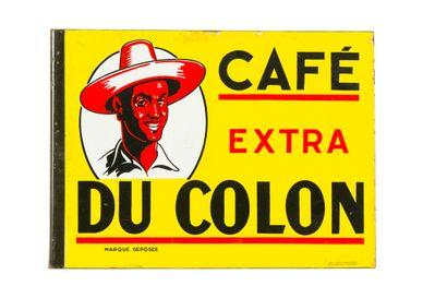 DU COLON Café extra.  Émaillerie Alsacienne...