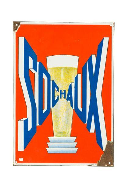 SOCHAUX (Bière).  Émaillerie Alsacienne Strasbourg,...
