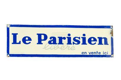 LE PARISIEN Libéré (Presse).  Émaillerie...