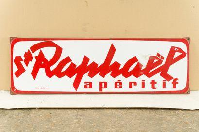 St. RAPHAEL Apéritif.  D'après LOUPOT, 1948.  Sans mention d'émaillerie, vers 1960....