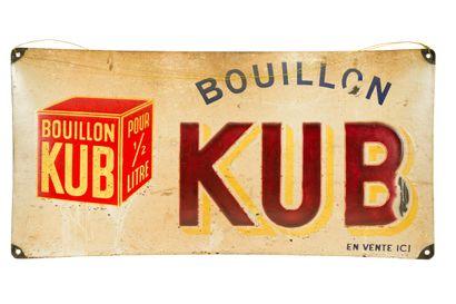 KUB Bouillon.  Sans mention d'émaillerie,...