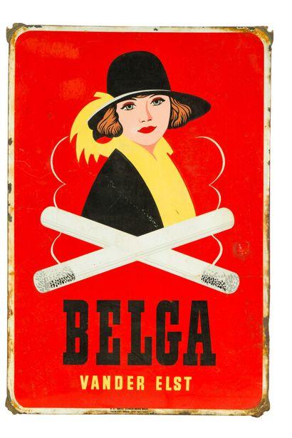 BELGA Vander Elst (Cigarettes).  Émaillerie...