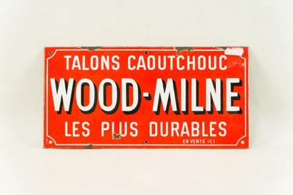 WOOD-MILNE Talons caoutchouc, Les plus durables....