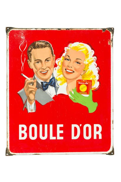 BOULE D'OR (Cigarettes).  Mention Odon Warland,...