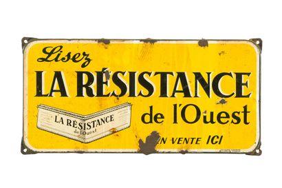 LA RESISTANCE de L'OUEST (Presse).  Émaillerie...