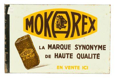 MOKAREX Le fin café.  Émaillerie Alsacienne...