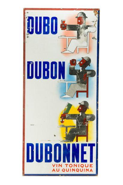 DUBO DUBON DUBONNET.  Signée d'après A.M....