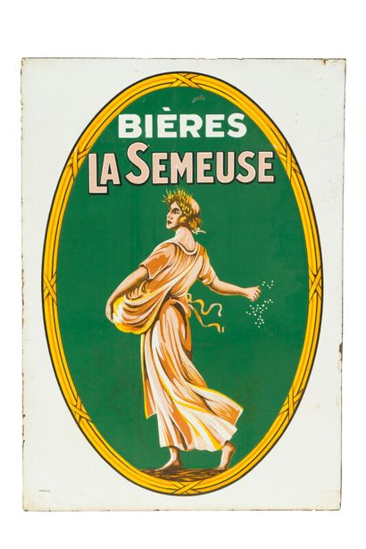 LA SEMEUSE Bières.  Émaillerie Alsacienne...