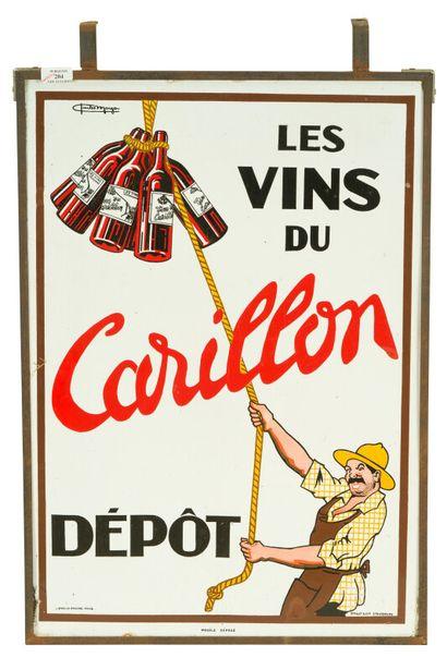 CARILLON Les vins du, Dépôt.  Signé Charles...