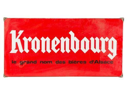 KRONENBOURG, Le grand nom des bières d'Alsace....