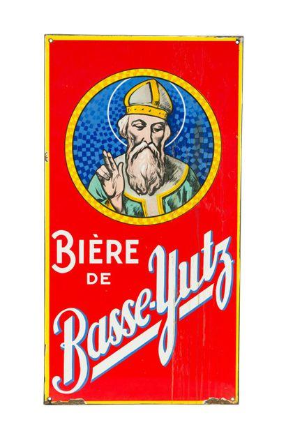 BASSE-YUTZ Bière de.  Émaillerie Alsacienne...