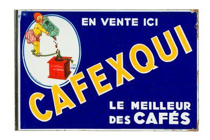 CAFEXQUI, Le meilleur des cafés.  Signé d'après...