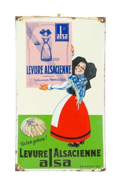 LEVURE ALSACIENNE ALSA.  Émaillerie Alsacienne...