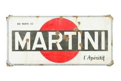 MARTINI L'apéritif.  Mention