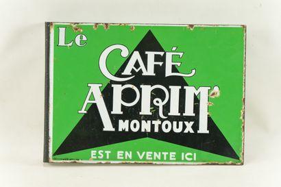 APRIM Le café, Montoux.  Émaillerie Alsacienne...