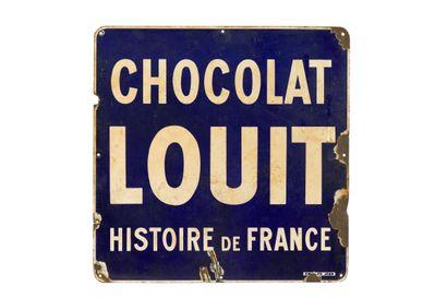 LOUIT Chocolat.  Émaillerie Edmond Jean,...