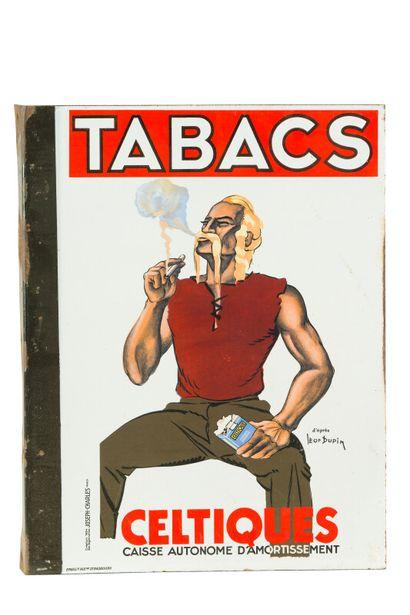 CELTIQUES / NAJA, Tabacs.  Signée d'après...