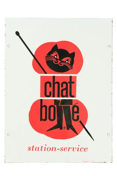CHAT BOTTÉ (Laines).  Mention Zenith Publicité,...