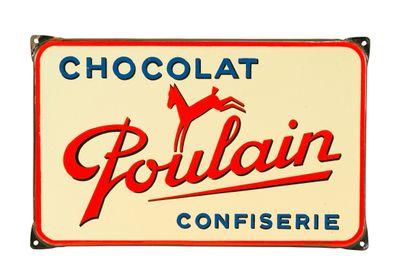 POULAIN Chocolat confiserie.  Émaillerie...