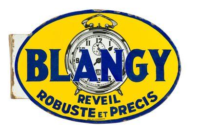 BLANGY Réveil robuste et précis.  Émaillerie...