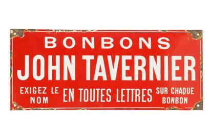 JOHN TAVERNIER Bonbons.  Émaillerie Japy,...