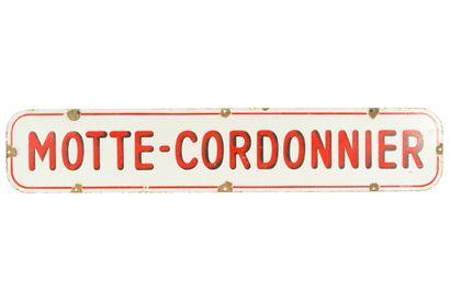 MOTTE CORDONNIER (Bière).  Émaillerie Japy,...