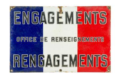 ENGAGEMENTS - RENGAGEMENTS, Office de renseignements....