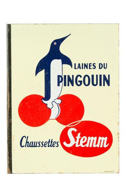 PINGOUIN LAINES DU, Chaussettes STEMM.  Émaillerie...