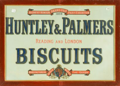 HUNTLEY & PALMERS BISCUITS.  Sans mention...
