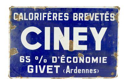 CINEY Calorifères brevetés.  Sans mention...