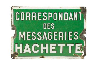 HACHETTE Correspondant des messageries....