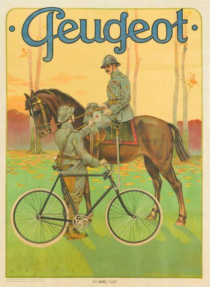 PEUGEOT (Cycles).  Anonyme, d'après l'affiche...