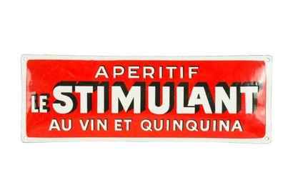 LE STIMULANT Apéritif au vin et quinquina....
