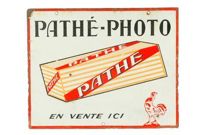 PATHÉ-PHOTO.  Sans mention d'émaillerie,...