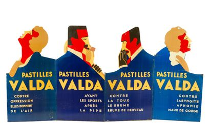 VALDA Pastille.  Mention PASTIVAL modèle...