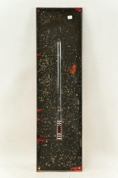 PICON PIKINA (Apéritif).  Émaillerie Alsacienne Strasbourg, vers 1950.  Thermomètre...