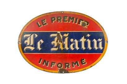 LE MATIN (Presse).  Émaillerie Vitracier,...