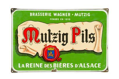 MUTZIG PILS, La reine des bières d'Alsace....