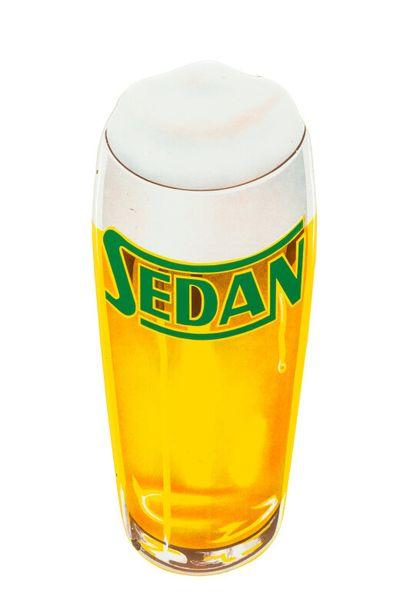 SEDAN (Bière de).  Sans mention d'émaillerie,...