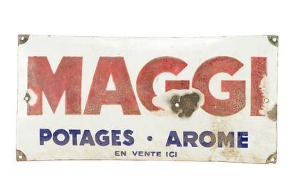 MAGGI, Potages - Aromes.  Sans mention d'émaillerie,...
