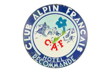 CLUB ALPIN FRANÇAIS Hôtel recommandé.  Émaillerie...