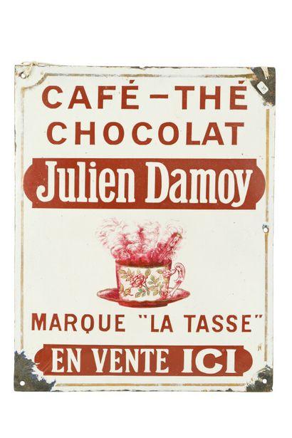 JULIEN DAMOY, Café-thé-chocolat.  Sans mention...