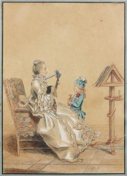 Louis CARROGIS dit CARMONTELLE (Paris 1717 - 1806)