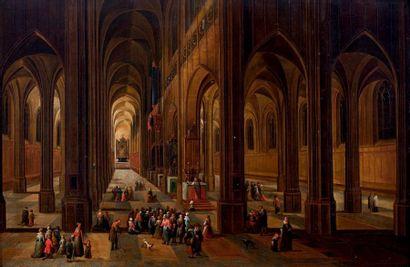 Pieter NEEFS II (Anvers, 1620-1659)