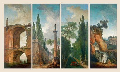 Hubert Robert (Paris, 1733-1808)