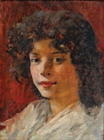 Attribué à Ricardo de MADRAZO Y GARRETA (1852-1917)