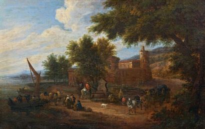Matthys SCHOEVAERDTS (Bruxelles 1660 - 1702)