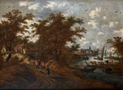 École HOLLANDAISE de la deuxième moitié du XVIIe siècle