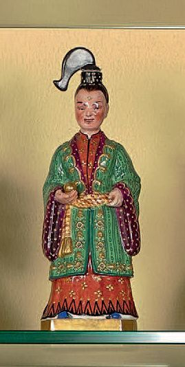 Flacon Chinois. Haut.: 23 cm(*)