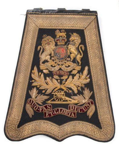 Très belle sabretache d'officier du Royal...